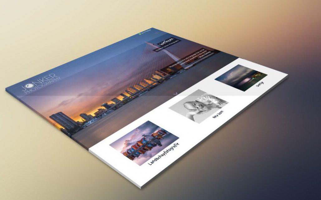 Melvin jonker Photography website